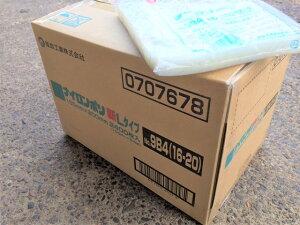 【ケース】ナイロンポリ L タイプ NO.9B4 真空袋 160×200mm 【2400枚】 福助工業 (領収書対応可能) 真空 パック ナイロン 保存袋 L 9B4 漬物 肉 魚 野菜 冷凍 ボイル 100度 新巻鮭 切り身 生もの ナ