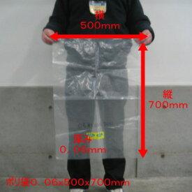 【オリジナル】ポリ袋【0.05×500×700mm】【100枚入】(領収書対応可能)ポリ 厚手 厚い 透明