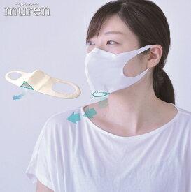 【メール便 送料無料】murenMask ムレンマスク (中国製) ふつう 小さめ ダイヤ工業