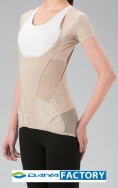 ウェア コルセット サポーター 着るタイプ 腰 腰用ニュートラルウェア ベージュLL ダイヤ工業