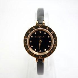 【中古】ブルガリ BVLGARI 時計 ビーゼロワン B-zero1 BZP23SG セラミック ピンクゴールド 23ミリ クオーツ レディース ダイヤ入り 39474