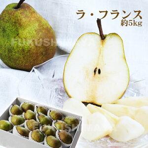 洋梨 の女王♪ ラ・フランス 5kg箱(10〜22粒入) いびつな形からみだく梨とも呼ばれます。【発送時期:11月上旬頃〜12月中旬頃まで予定】