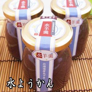 水羊羹(100g入) 瓶入りの贅沢な味わい