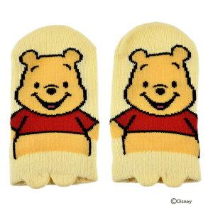 ベビー Disney ディズニー くまのプーさん パペット スニーカー丈ソックス 12-15cm 1061-0c0 靴下 キャラクターソックス 福助 フクスケ