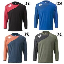 カンタベリー (CANTERBURY) メール便送料無料 ビッグサイズ ロングスリーブ プラクティス ティー RG48503B ラグビー 長袖Tシャツ 遮熱 UV(rg48503b)