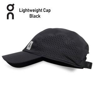 オン(On) Lightweight Cap 30100015 Black ランニング キャップ 帽子 軽量 メンズ レディース(30100048)