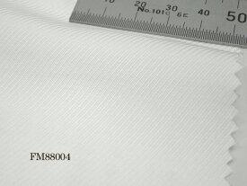 オリジナルオーダーシャツ●FM88004 THOMAS MASON社製 Italy Fabrics白ツイルドビー地 140番手双糸 100%cotton