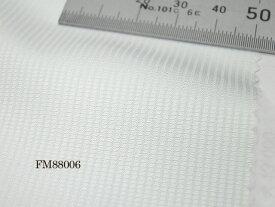 オリジナルオーダーシャツ●FM88006 THOMAS MASON社製 Italy Fabrics白ワッフル調ドビー地 140番手双糸 100%cotton