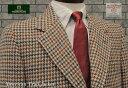 ★ I型 ( アメリカントラッド型・3ツ釦段返り ) HARRIS TWEED JACKET / ハリスツイードジャケット ( ガンクラブ風チェック ) / [ HB304-C5 ]ハリスツイードジャ