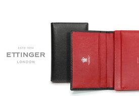 [ETTINGER社公認正規販売店]エッティンガー / ETTINGER ■●スターリング・レッドコレクション ビジティング・カードケース ST143JR ( レザー/名刺入れ/カードホルダー/メンズ ) STERLING RED