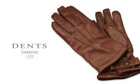 [デンツ社公認販売店]DENTS 手袋 / デンツ手袋 SHEEPSKIN / シープスキン ( 羊革 ) [ E-TAN / ブラウン ] 15-1529E-TAN 【楽ギフ_包装】