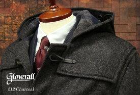 GLOVERALL / グローバーオール ダッフルコート メンズ ( チャコール1 ) [ 512C ] ( クラシックモデル )男性用/紳士用/メンズ/アウター/コート