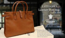 エッティンガー / ETTINGER ●レザートートバッグ T-15L TOTE / タン色 ( 革製鞄/メンズ/ビジネスバッグ/BAG/手提げ )