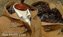 """■TRAD SALE!GLOVERALL / グローバーオール ダッフルコート メンズ """" 50th Anniversary Check """" スリムダッフルコート ( TAN・タン色 ) 3512AC ●"""