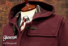 GLOVERALL / グローバーオール ダッフルコート メンズ ( バーガンディ ) [ 512C ] ( クラシックモデル ) 男性用/紳士用/メンズ/アウター/コート