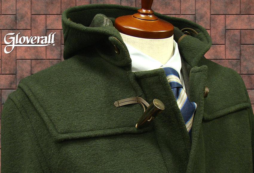 ■TRAD SALE!GLOVERALL / グローバーオール ダッフルコート メンズ ( ダークグリーン ) [ 512C ] ( クラシックモデル ) 男性用/紳士用/メンズ/アウター/コート
