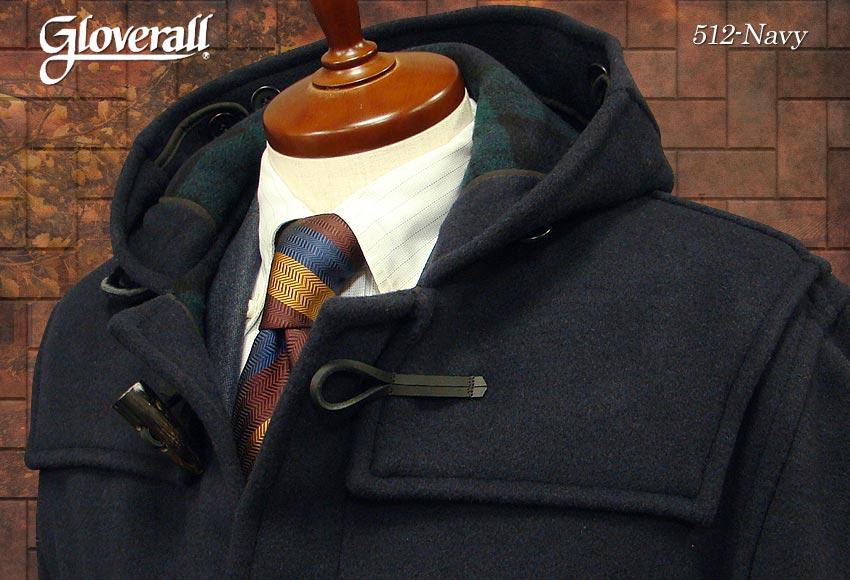 ■TRAD SALE!GLOVERALL / グローバーオール ダッフルコート メンズ ( ネイビー ) [ 512CT ] ( クラシックモデル ) 男性用/紳士用/メンズ/アウター/コート