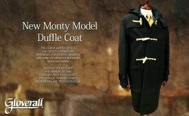 GLOVERALL / グローバーオール ダッフルコート New Monty model / ニューモンティモデル 585/52/メンズ ( BLACK )●