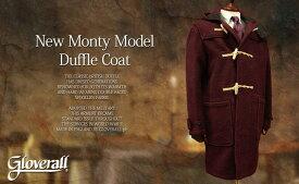 GLOVERALL / グローバーオール ダッフルコート New Monty model / ニューモンティモデル メンズ/585/52 ( BURGUNDY )●