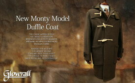 GLOVERALL / グローバーオール ダッフルコート New Monty model / ニューモンティモデル 585/52/メンズ ( EARTH )●