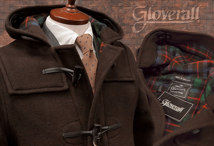 GLOVERALL / グローバーオール ダッフルコート [ 712 / CT / BROWN ] NEW CLASSIC MODEL ニュークラシックモデル / メンズ
