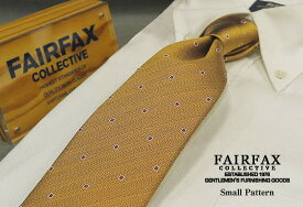 【 FAIRFAX / フェアファクス 】 小紋 / ネクタイ ( FAK-430 ) 【楽ギフ_包装】【あす楽対応】