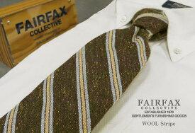 【 FAIRFAX / フェアファクス 】 ウールタイ ( ストライプ / ネクタイ ) ( FAWS-017 ) 【送料無料】【楽ギフ_包装】【あす楽対応】