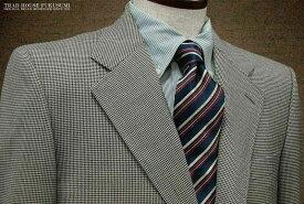 [秋冬] 三ツ釦段返り白黒千鳥柄 アメリカントラッドスーツ [ 752-19/536-3 ] トラッドスーツ