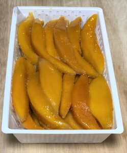 送料無料 冷凍マンゴー スライス 500g ベトナム産