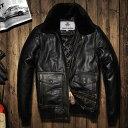本革ジャケット レザージャケット メンズ バイクジャケット 牛革 ヴィンテージ ライディング バイクウェア 男らしいシ…