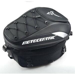 シートバッグ フルフェスヘルメット迄収納 リュックサック ショルダーバッグ 手持ち バイク用 硬い素材 防雨 リアバッグ ツーリングバッグ ヘルメットバッグ 撥水 防水 固定ベルト付き 送