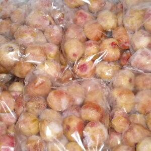 ●純国産皮むき冷凍いちじく蓬莱柿4.0kgジャムなど加工向き。500g(10〜20個入り)×4個×2箱セット。