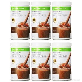 ハーバライフ【チョコレート】6本セット フォーミュラ1 プロテイン シェイク