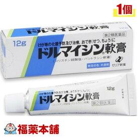 【第2類医薬品】ドルマイシン軟膏(12g) [ゆうパケット・送料無料] 「YP30」