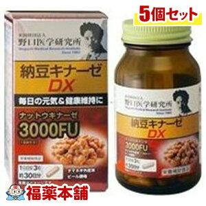 野口研究所 納豆キナーゼDX 90粒×5個 [宅配便・送料無料]