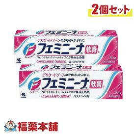 【第2類医薬品】フェミニーナ軟膏 30g×2個 [ゆうパケット・送料無料] 「YP30」