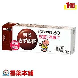 【第3類医薬品】明治 きず軟膏(5g) [ゆうパケット・送料無料] 「YP20」