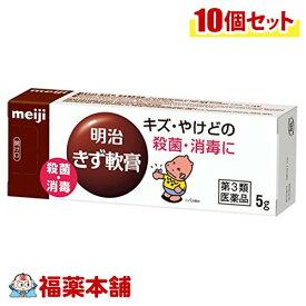 【第3類医薬品】明治 きず軟膏(5g×10本) [ゆうパケット・送料無料] 「YP20」