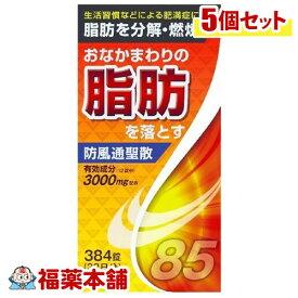 【第2類医薬品】防風通聖散料エキス錠(384錠)×5個 [宅配便・送料無料]