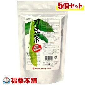 ミナミヘルシーフーズ 刀豆茶(2gx30袋入)×5個 [宅配便・送料無料] 「T80」