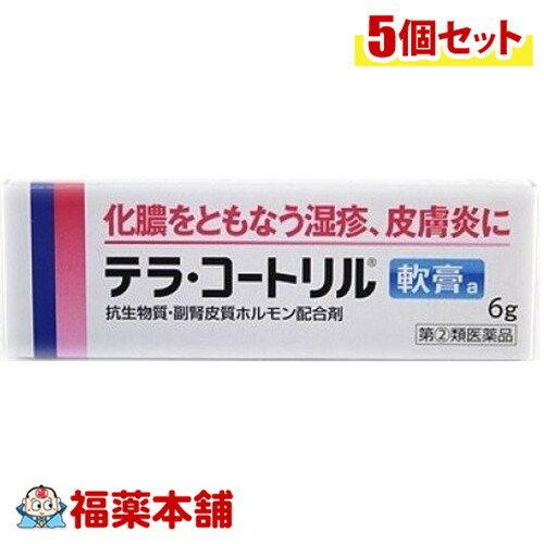 【第2類医薬品】テラマイシン軟膏 6g[ゆうパケット・送料無料] 「YP30」