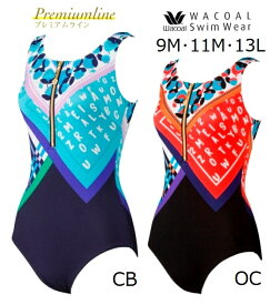 ワコールスイムウェア シェイプアップ水着 ワンピースSWO204 サイズ/9M・11L・13Lカラー/CB(ブルー)・OC(オレンジ)  人気商品