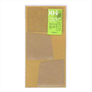 トラベラーズノート レギュラー/パスポート兼用 リフィル ポケットシール004 14248006