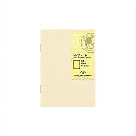 ミドリ トラベラーズノート パスポートリフィルMDクリーム 14404006