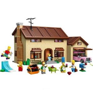 レゴ 互換品 シンプソンズハウス 71006 おもちゃ 建物 アニメ 街並み ブロック クリスマス プレゼント 知育玩具 入学 お祝い こどもの日