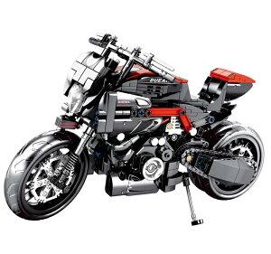 レゴ テクニック 互換品 ドゥカティモンスター 1200R 797 風 スーパーバイク ブロック プレゼント クリスマス