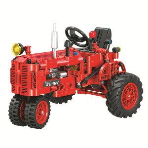 レゴ テクニック 互換品 USA トラクター 耕運機 プレゼント クリスマス