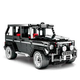 レゴ 互換品 MOC G500 SUV AWD ジープ ワゴン車 テクニック プレゼント クリスマス