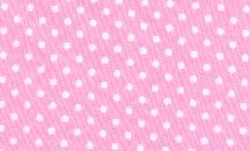 水玉 ドット 生地 布 ピンク 3mmドット