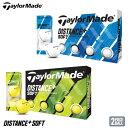 【2020モデル】 テーラーメイド ディスタンス+ ソフト ボール 日本正規品 1ダース(12球入り) TaylorMade Distance+ SOFT